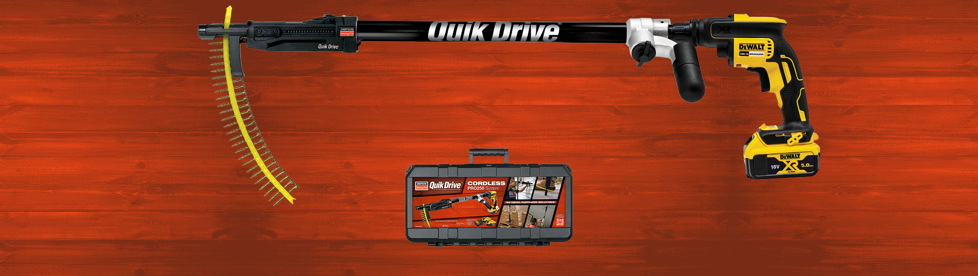 QuikDrive® CORDLESS PRO250 Auto-Feed Screw Driving System