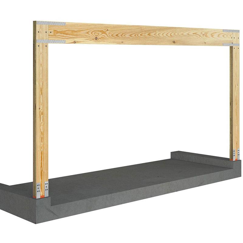 Site-Built Portal Frame System