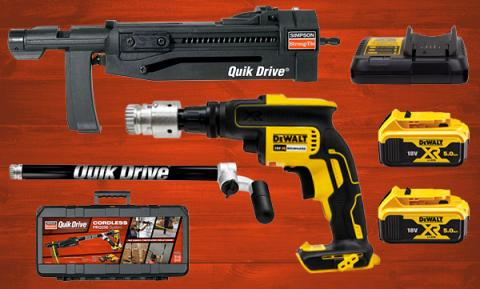PRO250 Cordless Quik Drive Auto-Feed Screw Driving System